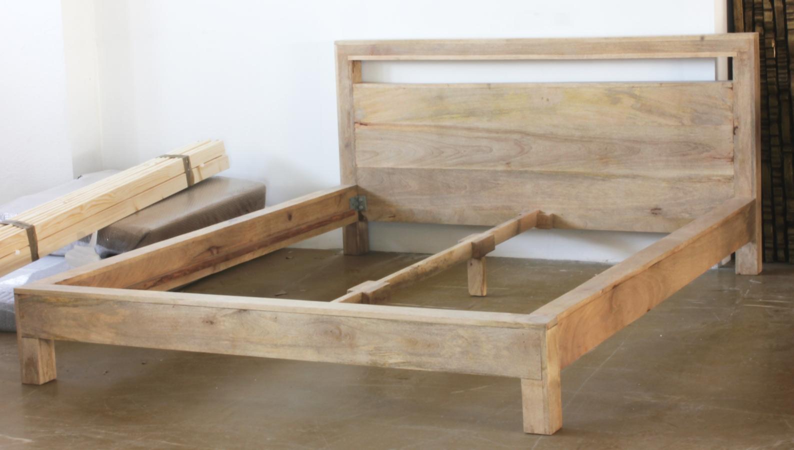 łóżko Z Drewna Mango Do Materaca 160cm