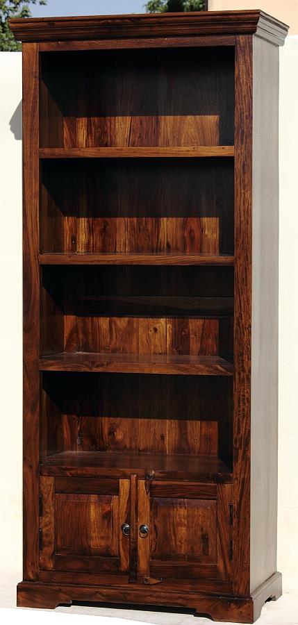Regal Biblioteczka Z Litego Drewna
