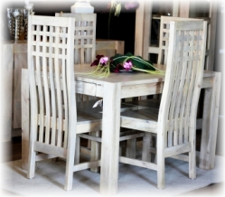 sto y z litego drewna. Black Bedroom Furniture Sets. Home Design Ideas